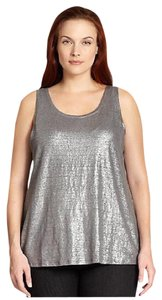 Eileen Fisher Top Silver