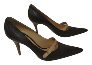 Louis Vuitton Gina Mary Janes Brown Pumps