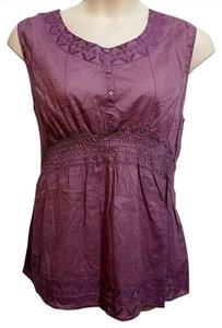 Bit and Bridle Top Purple