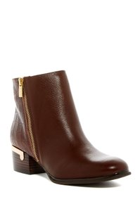 Isola Leather Croc Gold Brown Boots