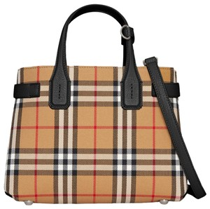 Burberry Satchel in Camel