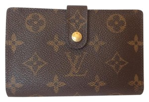 Louis Vuitton Monogram Porte Monnaie Billets French kisslock wallet