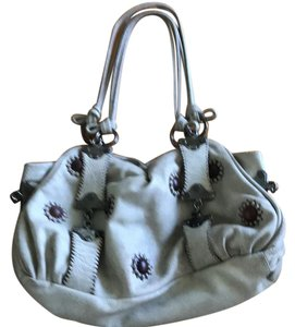 Jamin Puech Satchel in Taupe and dark brown