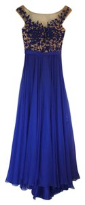 Sherri Hill Illusion Top Cap Sleeve Prom Gala Formal Dress
