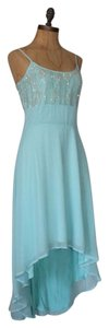Matty M Beaded High Low Prom Cocktail Summer Dress