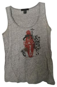 Laundry by Shelli Segal Top heather gray