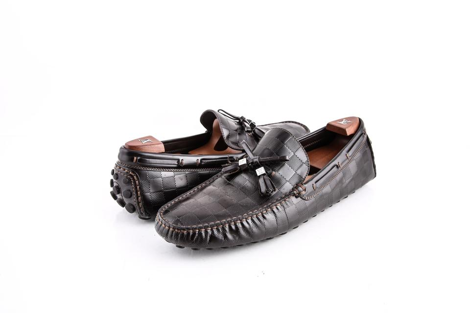 862c5aef7ca3 Louis Vuitton Brown Imola Loafers Shoes Image 0 ...