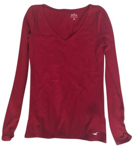 Hollister T Shirt red, white