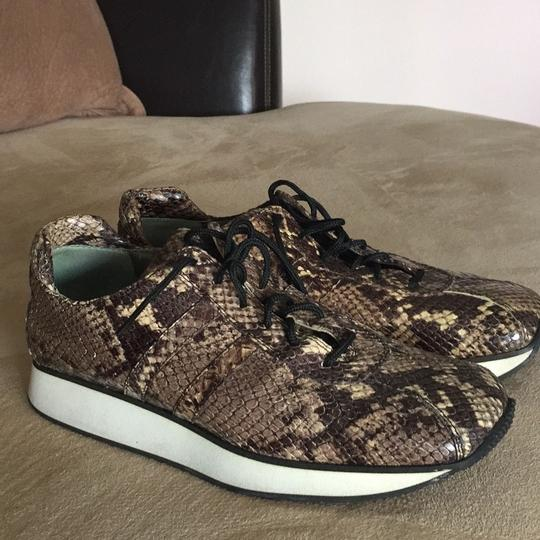 Fieramosca & Co., Made in Italy Multi- brown/tan snakeskin Athletic Image 2