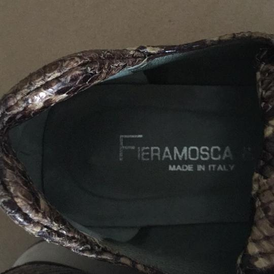 Fieramosca & Co., Made in Italy Multi- brown/tan snakeskin Athletic Image 3