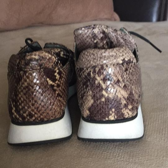 Fieramosca & Co., Made in Italy Multi- brown/tan snakeskin Athletic Image 4