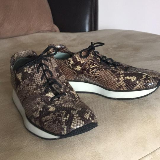 Fieramosca & Co., Made in Italy Multi- brown/tan snakeskin Athletic Image 5