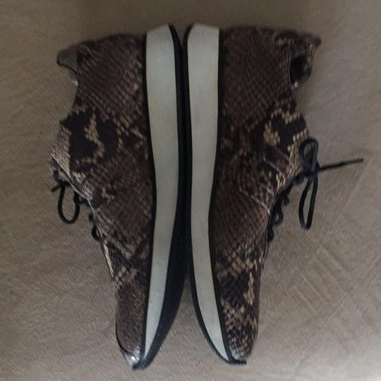 Fieramosca & Co., Made in Italy Multi- brown/tan snakeskin Athletic Image 7