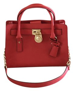 Michael Kors Satchel in Blaze