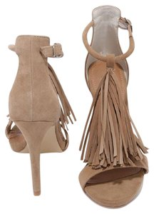 Steve Madden Suede Tan Pumps