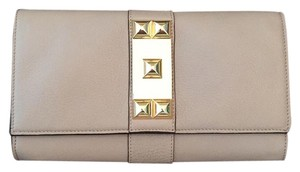Vince Camuto Putty Beige Clutch
