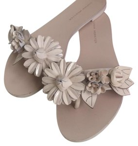 Sophia Webster Flats Floral New Nude Sandals