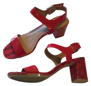Calvin Klein red Sandals