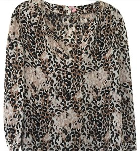 Joie Top leopard