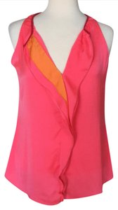 Tahari Top Pink/bubble gum