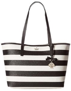 Kate Spade Hawthorne Lane Glitter Ryan Tote in Black / Multi