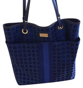 Tommy Hilfiger Tote in blue/brown