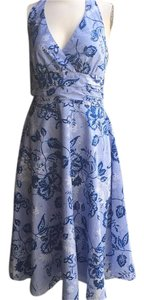 Karin Stevens short dress blue on Tradesy