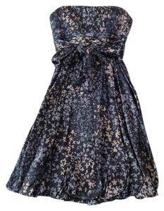 BCBGMAXAZRIA Strapless Silk Dress