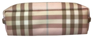 Burberry Burberry Pink Check Pouch