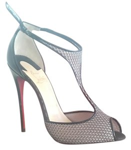 Christian Louboutin Black and beige Pumps