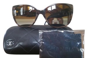 Chanel Chanel Grey/Brown Tweed 5237 Sunglasses