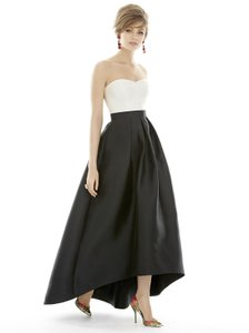 Alfred Sung Black/Ivory D699 Dress