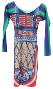 Jeremy Scott short dress Multi color on Tradesy