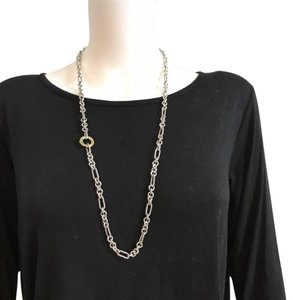 David Yurman Figaro Chain Link Necklace
