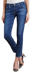 AG Adriano Goldschmied Ag's Stevie Stretchy Mid-rise Ankle Skinny Jeans