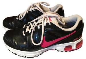 Nike Air Max Leather Black/Pink/White Athletic