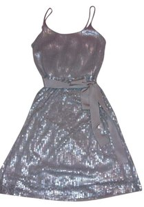 Express Cocktail Party Sequin Dress
