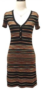Missoni short dress multi Zig Zag Light Knit on Tradesy