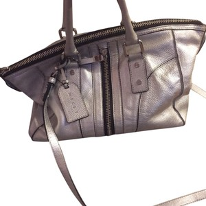 MILLY Tote in Silver