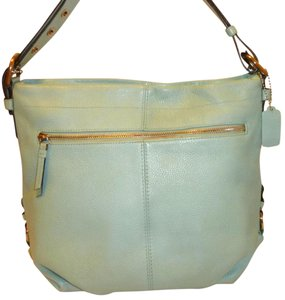Coach Refurbished Leather Convertible Lined Cross Body Bag