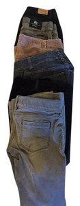 Abercrombie & Fitch Straight Pants black, gray, snake,gray, purple