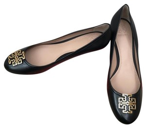 6dbea6215 Black Tory Burch Wedges - Up to 90% off at Tradesy
