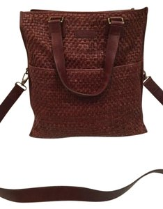 Cole Haan Leather Cross-body Tote Shoulder Bag