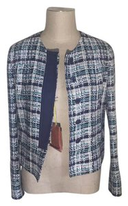 Etro Navy, White, Teal Jacket