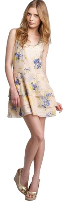 Juicy Couture short dress Floral Tiered Bow Beaded on Tradesy