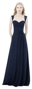 Bill Levkoff Navy Bill Levkoff Bridesmaid Dress Style 485 Dress