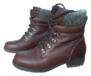 Cougar Winter Waterproof Ankle Leather Brown Boots