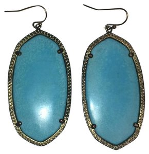 Kendra Scott Danielle Gold Earrings in Turquoise