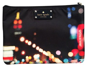 Kate Spade Black-navy Clutch