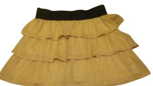 Charlotte Russe Mini Skirt mauve and Black